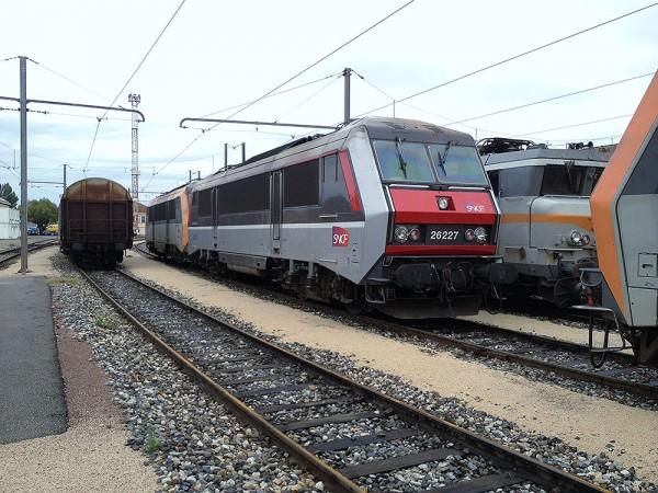 BB26227 au depot de Miramas