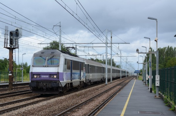 Bb26008 for Train tours paris austerlitz