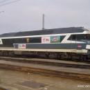 La CC72084 stationnée à Bordeaux.